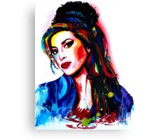 """My colors for Amy"" Canvas Print"