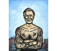 Mr. Rogers- Urban Legend Photographic Print