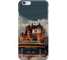 Bembridge Lifeboat Launch iPhone Case/Skin
