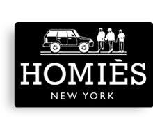 Homies, New York Canvas Print