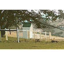 Australian Country Church ' Convenience' Photographic Print