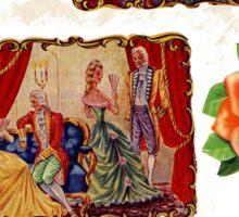 Royalties & Roses Sticker