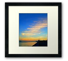 out of reach... Framed Print