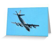 US Navy P-3C Orion Long Range ASW Aircraft Greeting Card
