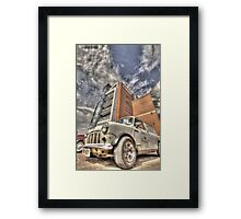 Lincoln Big Mini Day Framed Print