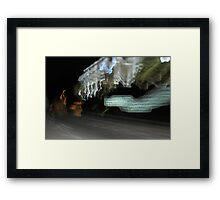 driving home Framed Print