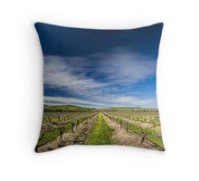 Winter Vines Throw Pillow