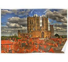 Lincoln Cathedral HDR Poster