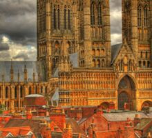 Lincoln Cathedral HDR Sticker