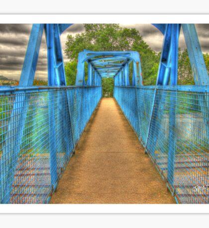 Blue Bridge Sticker