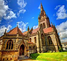All Saints Church HDR by Jonathan Cox
