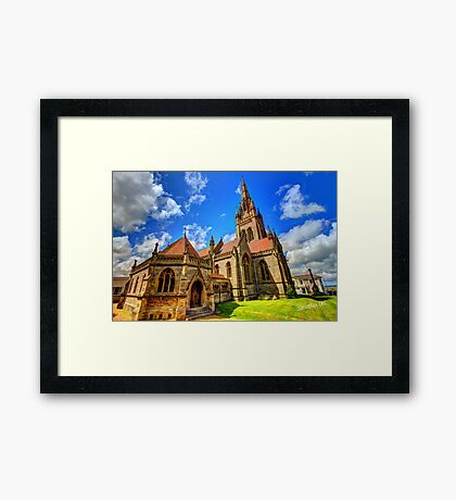 All Saints Church HDR Framed Print