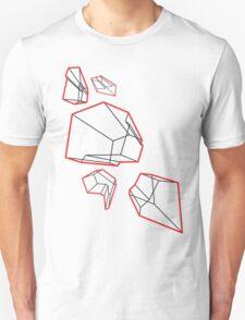 Red Prisms Unisex T-Shirt