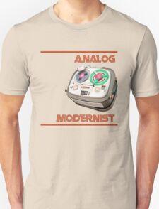 Analog Modernist Unisex T-Shirt