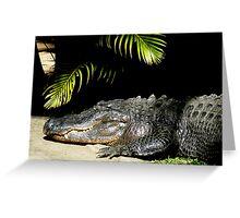 Happy Croc Greeting Card