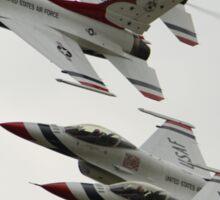 Thunderbirds at Waddington Airshow Sticker