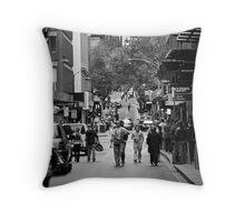 City Work Life Throw Pillow