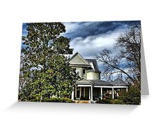 Turrets and Trees Greeting Card