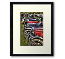 Sevens to the Sea Framed Print