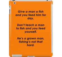 Ron Swanson Quote iPad Case/Skin