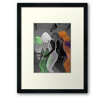 Irish Plains War Dance Framed Print