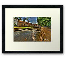 Nettleham Beck Framed Print