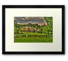 Riseholme Hall Framed Print