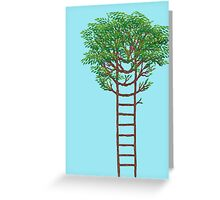 Ladder Tree Greeting Card
