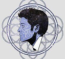 Space Cas Ornament by ZartbitterSalat