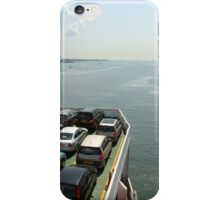Red Funnel Ferry Crossing Southampton Water iPhone Case/Skin