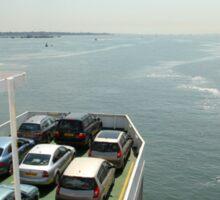 Red Funnel Ferry Crossing Southampton Water Sticker