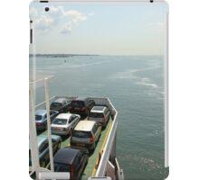 Red Funnel Ferry Crossing Southampton Water iPad Case/Skin