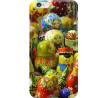 Lincoln Christmas Market Russian Dolls iPhone Case/Skin
