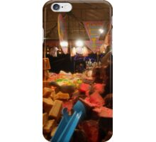 Lincoln Christmas Market Fudge Stall iPhone Case/Skin