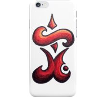 Eternal /  مؤبد (red) iPhone Case/Skin