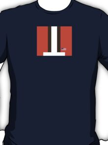 Cleveland Helmet Stripe T-Shirt