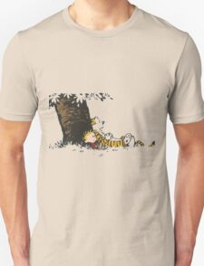 calvin and hobbes tree Unisex T-Shirt