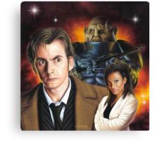 David Tennant the 10th Doctor Canvas Print