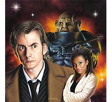 David Tennant the 10th Doctor Photographic Print
