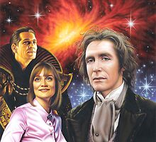 Paul McGann the 8th Doctor by Colin Howard