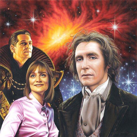 Paul McGann the 8th Doctor by Colin Howard