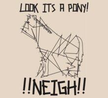 Look its a pony by Alex Litzow