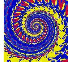 sdd Abstract Fractal 98B  by mandalafractal