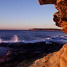 Maroubra Rock Face by HeatherEllis