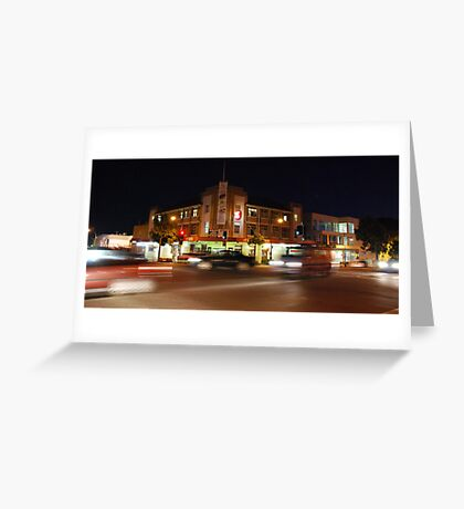 Fotheringham's Hotel After-dark Greeting Card