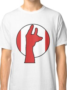 Handy Llama  Canadian Celebration Classic T-Shirt