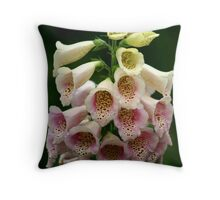Exuberant Flora Throw Pillow