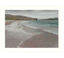 Portstewart strand,Northern Ireland. Art Print