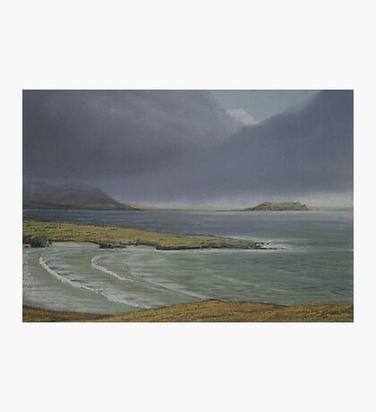 View from Knockamany bends,Co Donegal. Photographic Print