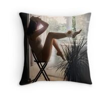 ecstatic Throw Pillow